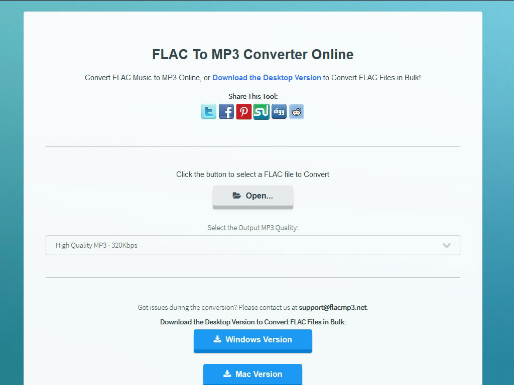 FLAC To MP3 Online 1